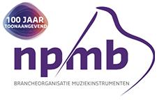 NPMB – Nederlandse Piano- en Muziekinstrumentenbond – Brancheorganisatie muziekinstrumenten Logo