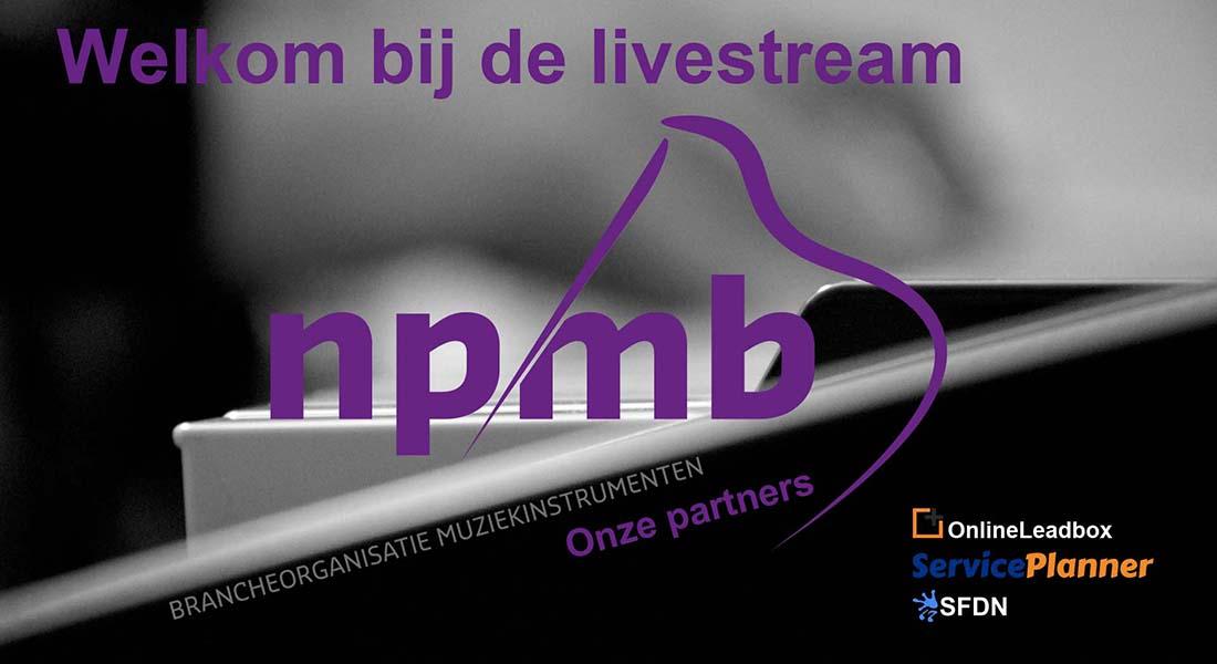 Eerste livestream NPMB